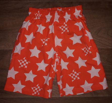 Яркие шорты Nutmeg мальчику на 4-5 лет (шортики,штаны)
