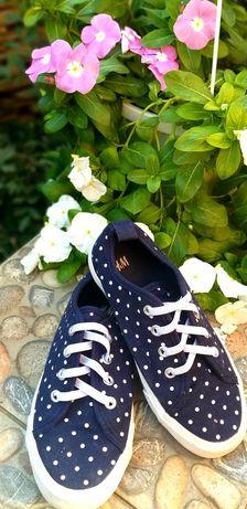 Кеды, мокасины,кроссовки H&M 18 см