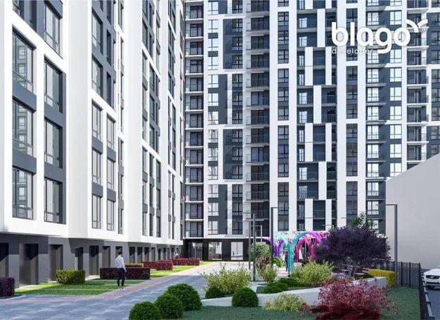 25 833 $, Квартира в центрі міста в новому житловому комплексі