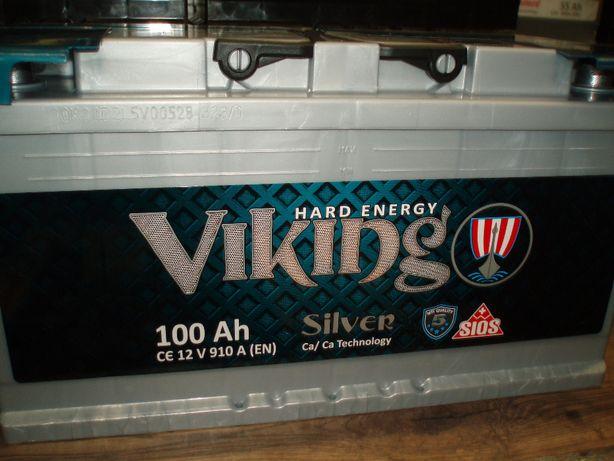 Akumulator 12V 100Ah/910A Viking Silver nowy Kielce-dowóz gratis!!!