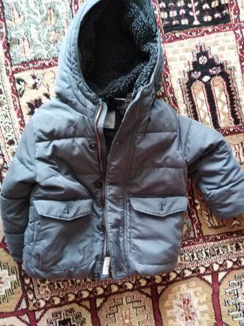 Kurtka zimowa, ciepła, ZARA, rozmiar 98