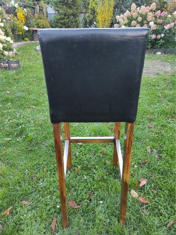 Krzeslo hoker czarny