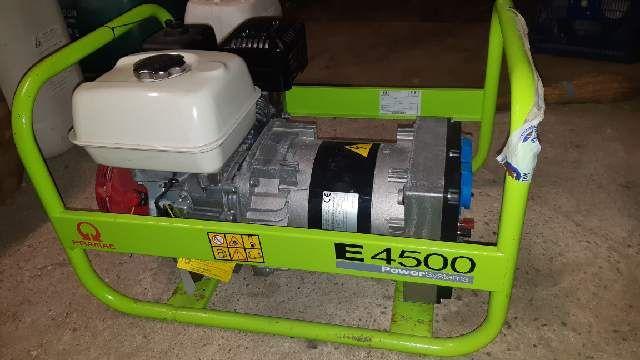 Agregat prądotwórczy Promac E 4500 Power Factor, generator prądu, 230V