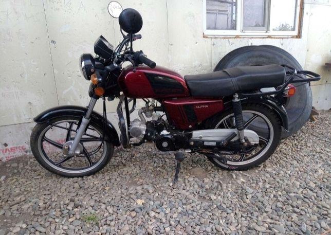 Мотоцикл альфа 110 кубов