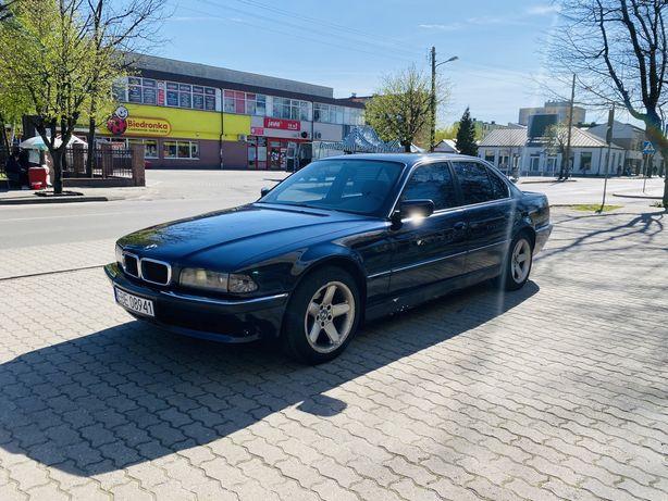BMW E38 4.0 V8 286KM M60B40 1995 LPG z przerobionym wydechem