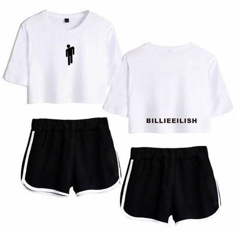 Стильный модный костюмчик ( топ и шорты ) BILLIE EILISH.Новый( из США)