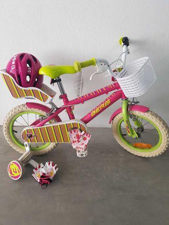 Bicicleta menina rosa