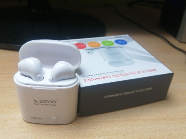 Słuchawki bezprzewodowe Savio tws 0-1