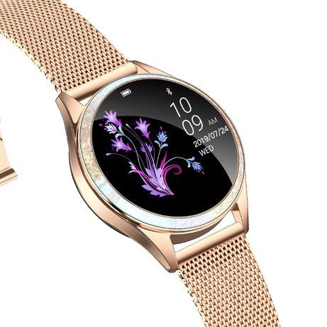 Smartwatch damski KW20 Mesh kroki puls cykl KW20 Galaxy Note