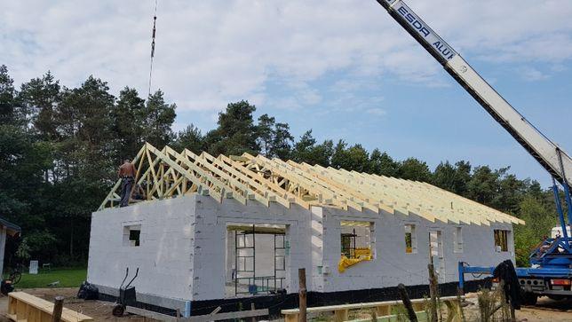 Wiązary dachowe Dachy wywiązka konstrukcja dachu