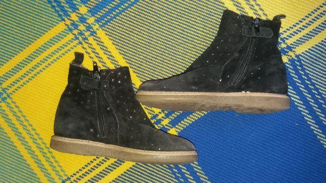 ботинки -сапожки для девочки