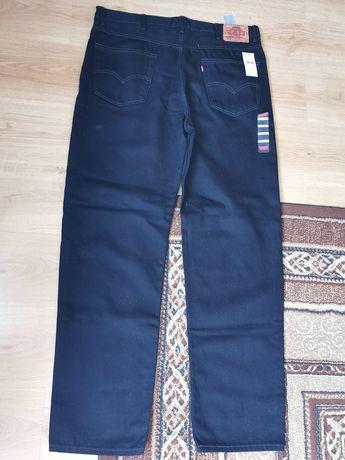 Spodnie jeans czarne LEVIS W38 L 34 nowe