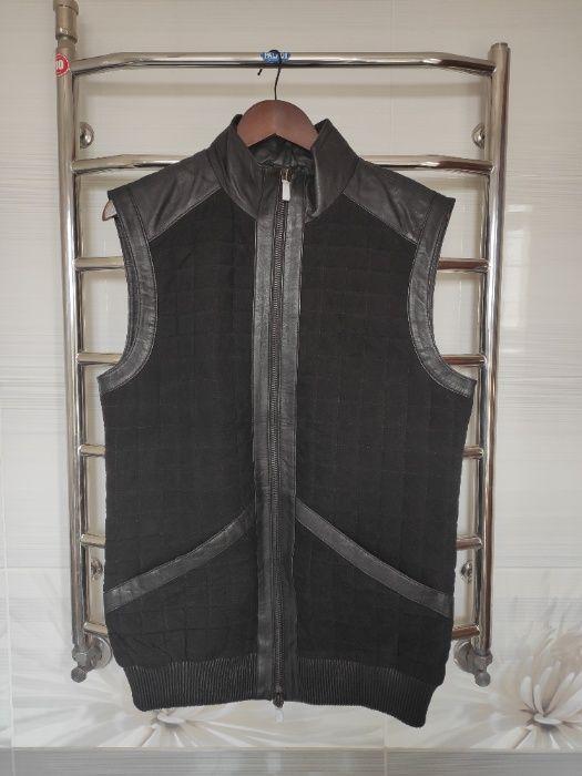 Жилет черный napp jeans p.m Фастов - изображение 1