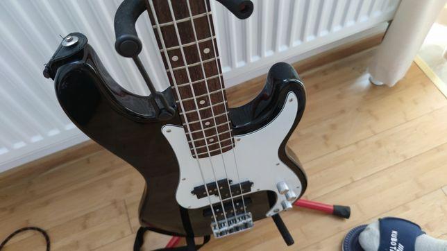 Gitara basowa Tenson + combo 15w, wzmacniacz, piec, bass