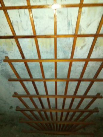 Piękne pergole drewniane, lakierowane, zadbane (110x160; 90x160)