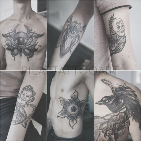 Ищу тату-модель для необычных татуировок