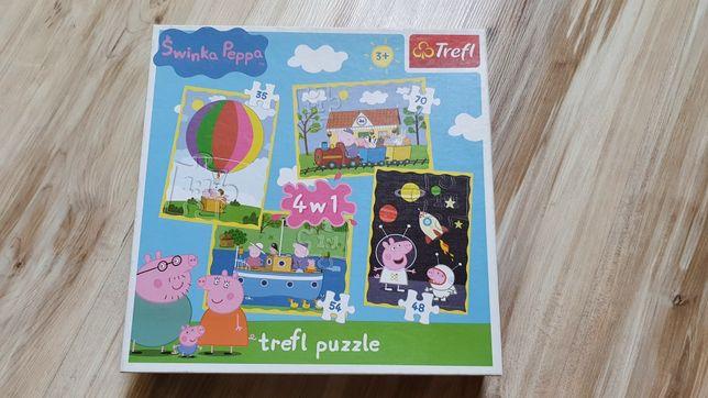Puzzle Trefl Świnka Peppa