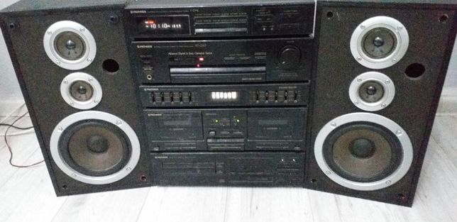 wieża stereo pionieer
