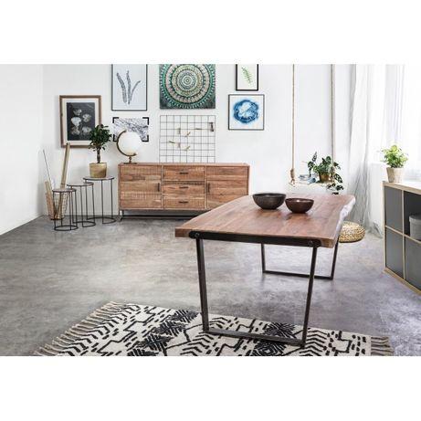 Mesa Jantar Tampo Madeira Pé Ferro Dinning Table - by OVO Home Design