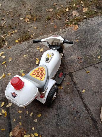 детский мотоцикл, без аккумулятора