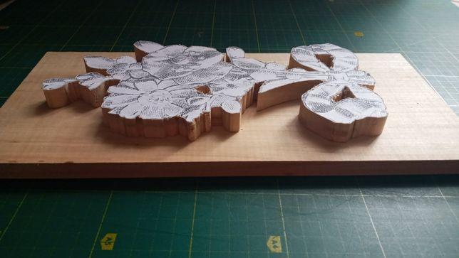 резьба по дереву, деревянные заготовки для упражнений