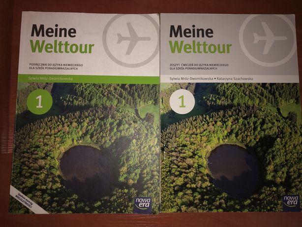 Meine Welttour 1 Podręcznik, Zeszyt ćwiczeń