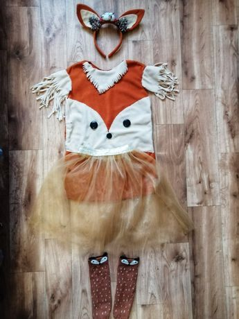 Новогодний карнавальный костюм для утренника белочка или лисичка