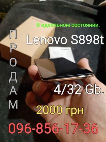 Смартфон LENOVO S 898t в отличном состоянии.