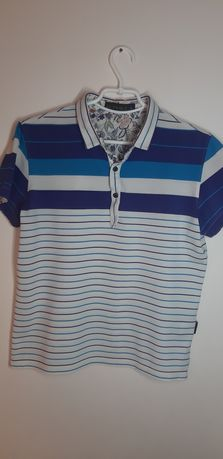 S-M Etro Milano футболка поло для парня,мужчины