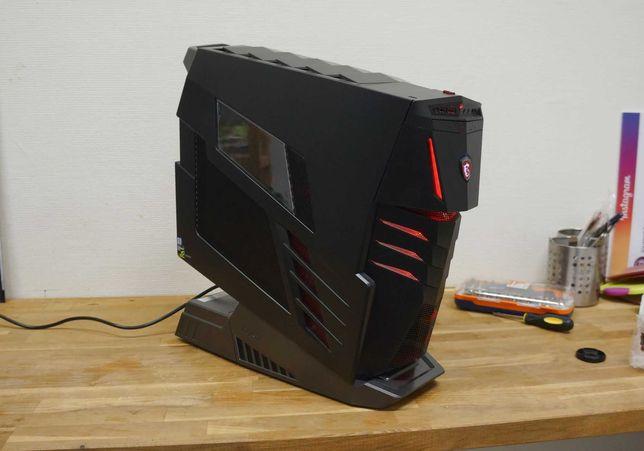 MSI Aegis Ti 2x NVIDIA GeForce GTX 1080 SLI + klawiatura i mysz