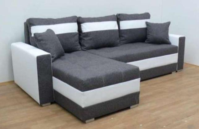 Narożnik rogówka od producenta kanapa sofa z pojemnikiem tapczan