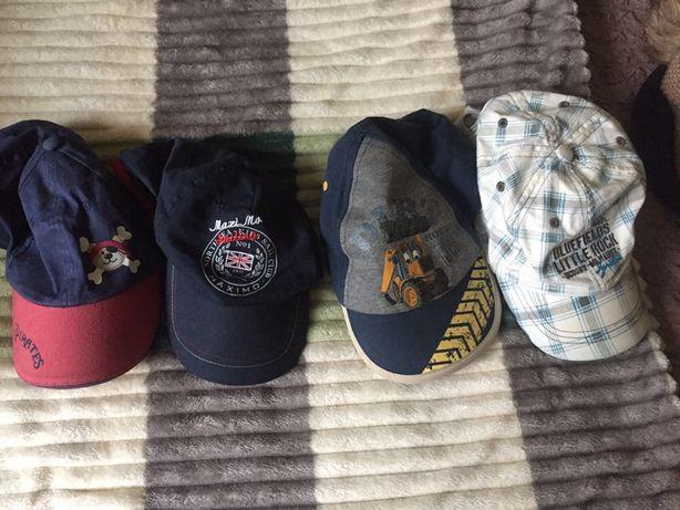 Разные кепки на 2-3-4 года