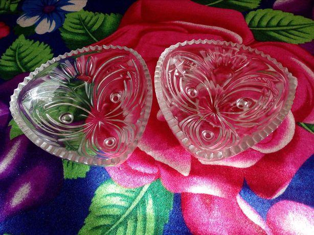 Набор хрустальных вазочек
