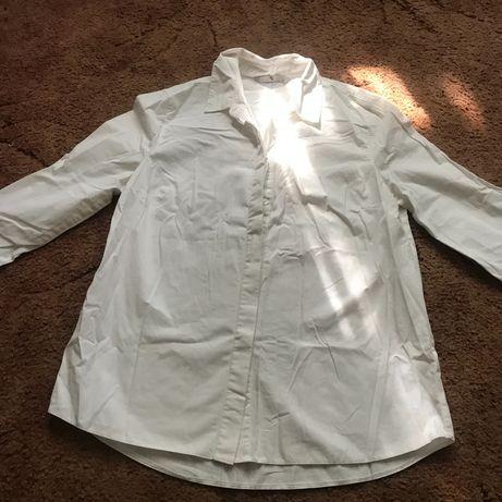 Віддам безкоштовно базову білу сорочку жіночу