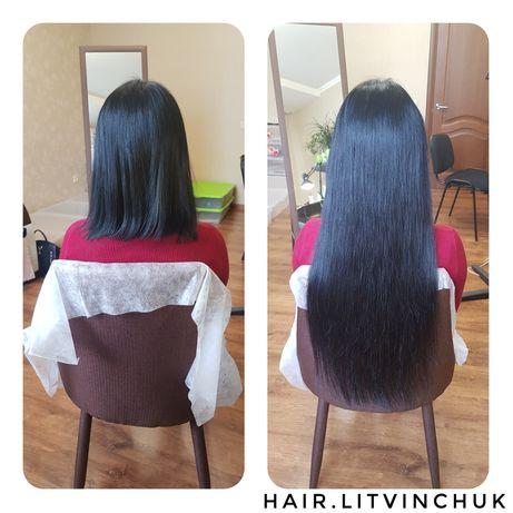 Наращивание волос 1400 грн за 100 грамм микро