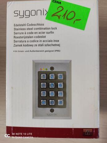 Sygonix Zamek kodowy nadtynkowy, podtynkowy IP65 z podświetlaną klawia