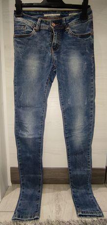 Spodnie jeansowe damskie rozmiar XS