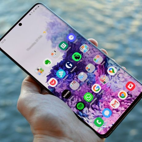 Samsung S20 Ultra 5G - 128GB - Mystic Black