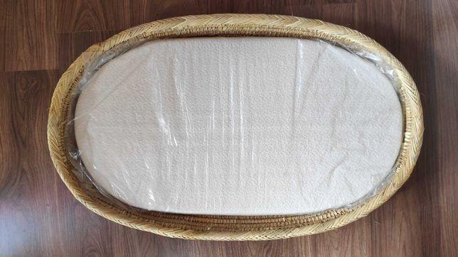 Cesto/cesta muda fraldas com colchão