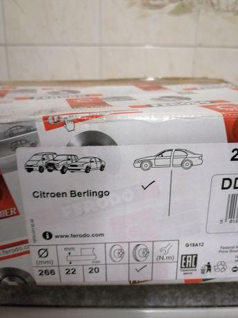 Discos citroen Berlingo