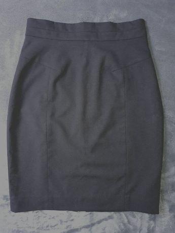 Spódnica czarna ołówkowa H&M 36
