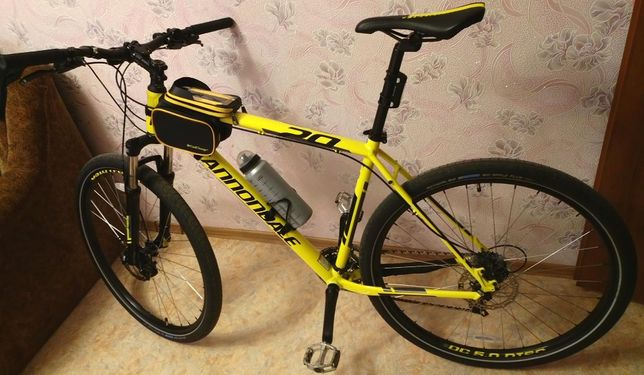 "Велосипед Cannondale Trail 7 29"" 2015 желтый рама XL 2 комл. покрышек"