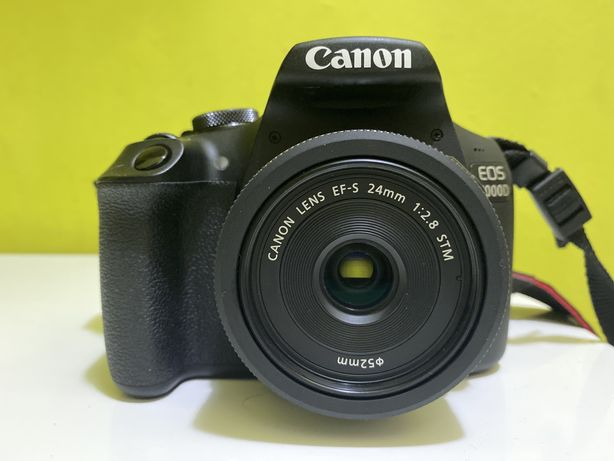 Canon EOS 2000D + EF-S 24mm f/2.8
