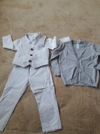 Ubranka r. 92 elegancji zestaw.