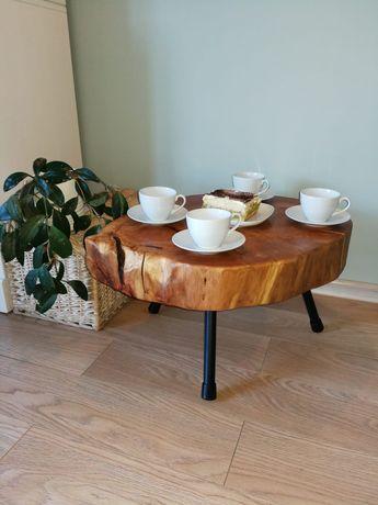 Stolik/ława z drewna
