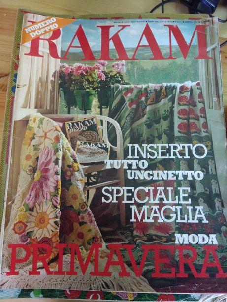 Revistas Rakam - Malha, Moda 1978/1979/1980
