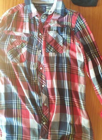 Camisa e T-Shirt Pull&Bear / Berskha