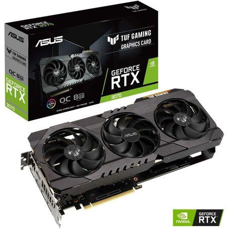 Placa Gráfica Asus GeForce® RTX 3070 TUF Gaming 8GB GDDR6 OC Editon
