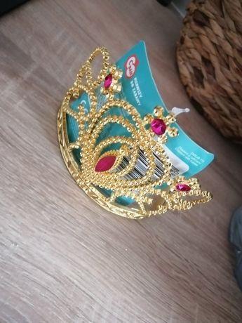 Nowa korona karnawał bal karnawałowy królewna księżniczka
