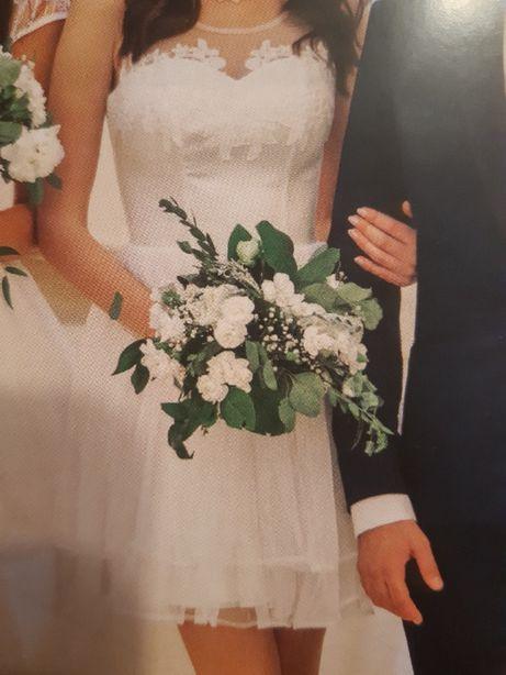 Piękna Nowa sukienka na ślub